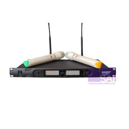 KREZT KRU-5010 Microphone Wireless