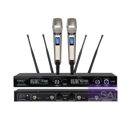 KREZT KRU-7030 Microphone Wireless