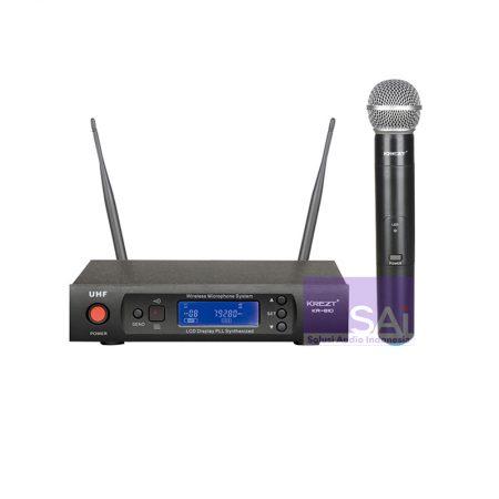 KREZT KRU-810 Microphone Wireless