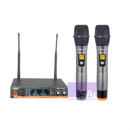 KREZT KRU-820 Microphone Wireless