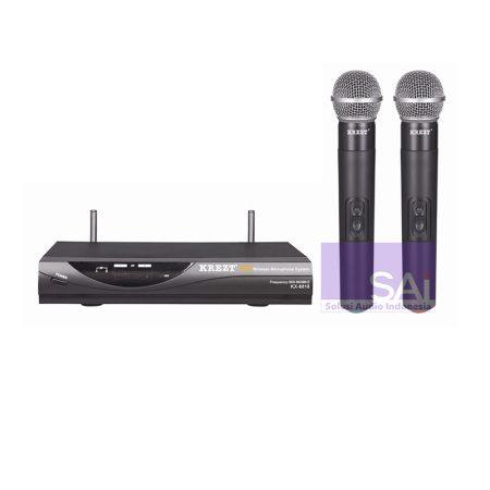 KREZT KX-8818 Microphone Wireless