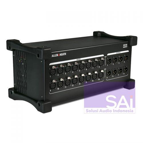 Allen & Heath DX168 16×8 Digital Snake Stage Box
