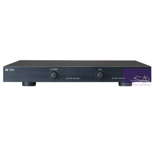 TOA ZA-D500 2-Channel PA System Power Amplifier