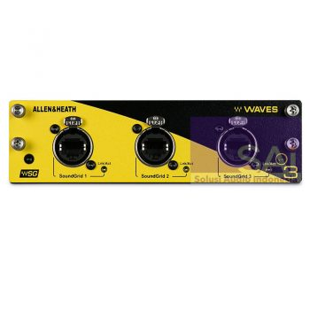 Allen & Heath WAVES V3 Module Audio Interface Module for SQ Series