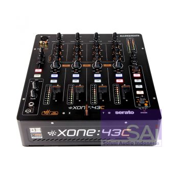Allen & Heath Xone 43C 4-Channel Pro DJ Mixer
