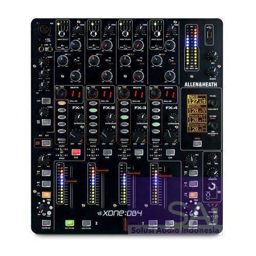 Allen Heath Xone DB4 4-Channel Digital Pro DJ FX Mixer