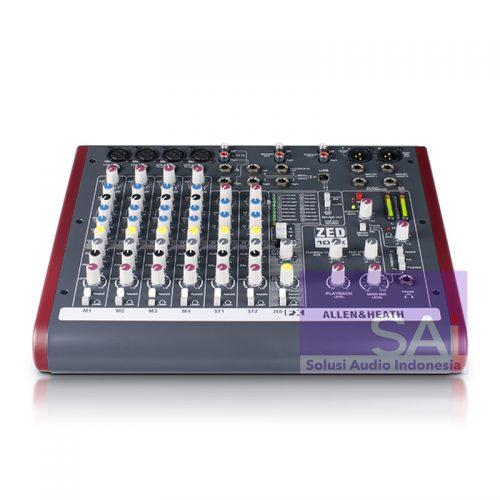 Allen & Heath ZED-10FX 10-Channel Analog Live Mixer (USB+FX)
