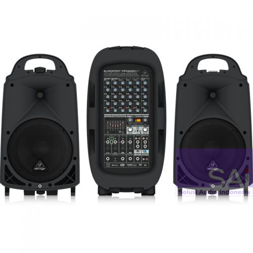 Behringer PPA2000BT 10″ Bluetooth Portable PA System