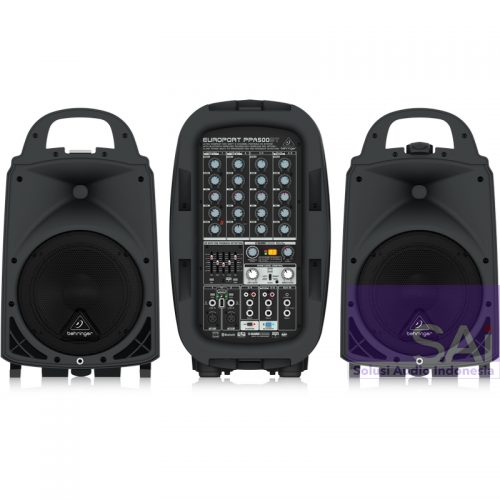 Behringer PPA500BT 8″ Bluetooth Portable PA System
