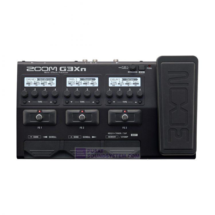 Zoom G3XN Guitar Multi Effects Processor with Expression Pedal