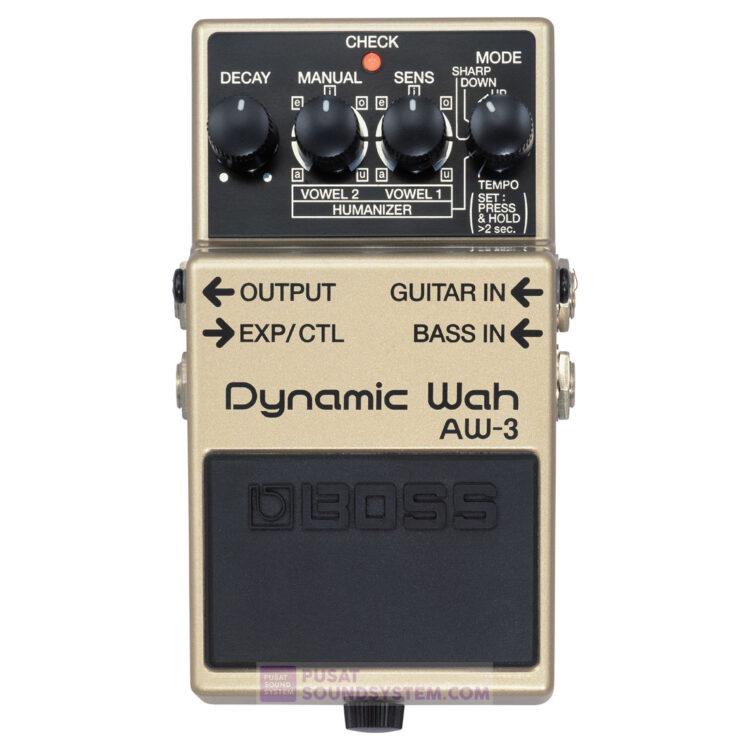Boss AW-3 Dynamic Wah Guitar Pedal Effect