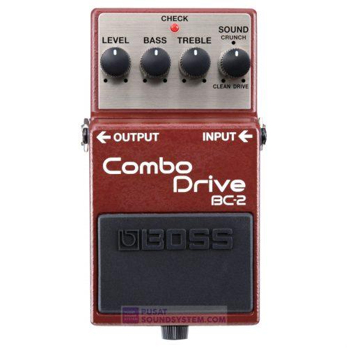 Boss BC-2 Combo Drive Guitar Pedal Effect