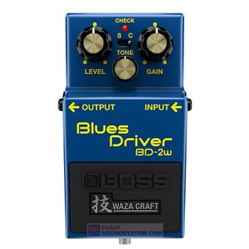 Boss BD-2W Waza Craft Blues Driver Guitar Pedal Effect
