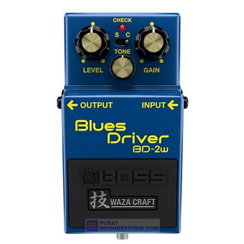 Boss BD-2W Waza Craft Blues Driver Guitar Pedal Effect