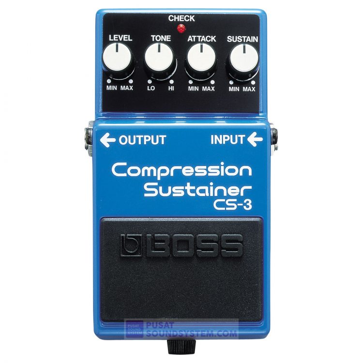 Boss CS-3 Compression Sustainer Guitar Pedal Effect