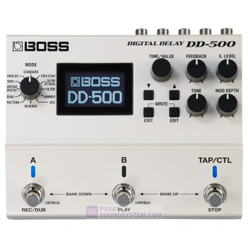 Boss DD-500 Digital Delay Guitar Pedal Effect