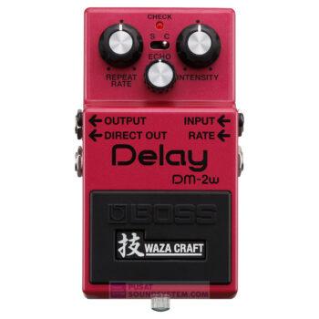 Boss DM-2W Waza Craft Delay Guitar Pedal Effect
