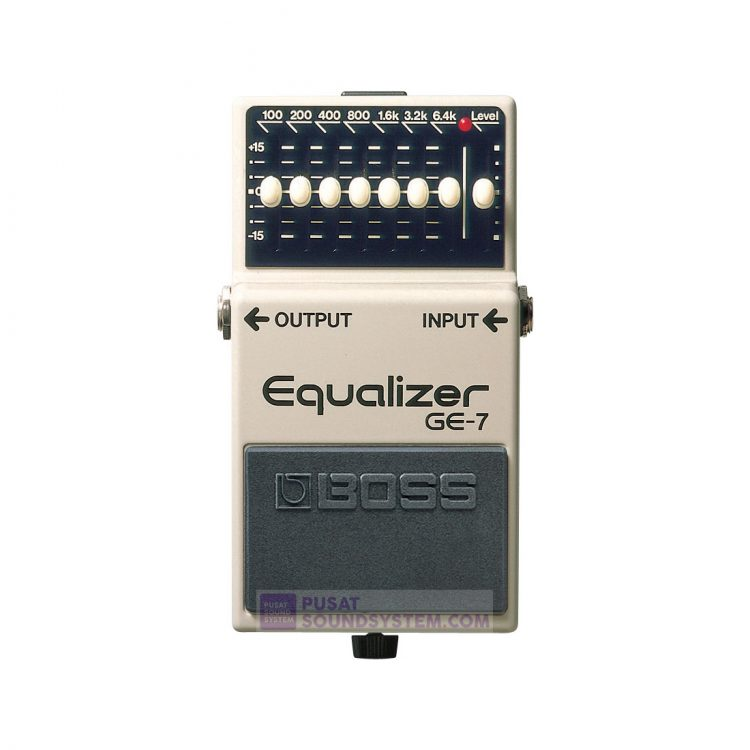 Boss GE-7 Graphic Equalizer Guitar Pedal Effect
