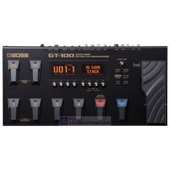 Boss GT-100 Guitar Effects Processor with Accel Pedal