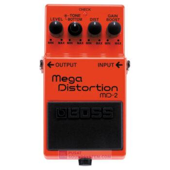 Boss MD-2 Mega Distortion Guitar Pedal Effect