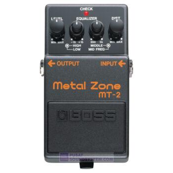 Boss MT-2 Metal Zone Distortion Guitar Pedal Effect