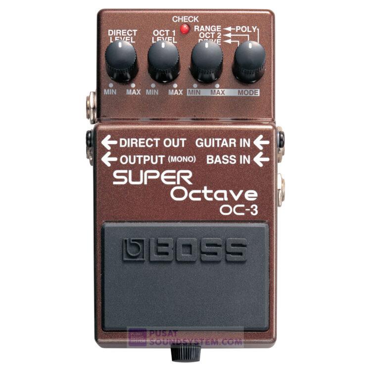 Boss OC-3 Super Octave Guitar Pedal Effect