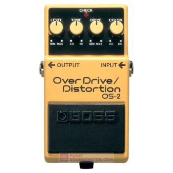 Boss OS-2 OverDrive/Distortion Guitar Pedal Effect