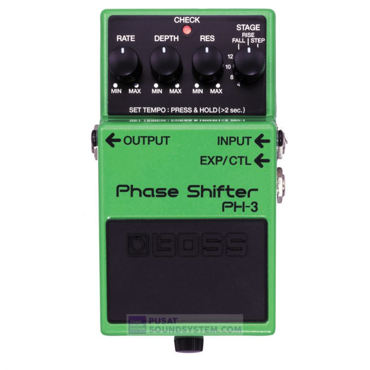Boss PH-3 Phase Shifter Guitar Pedal Effect