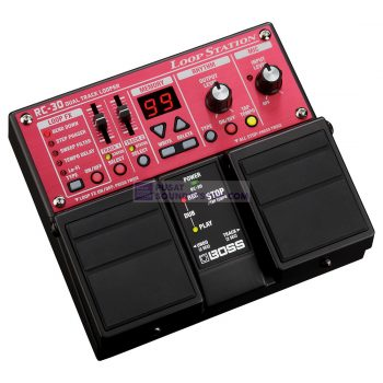 Boss RC-30 Loop Station Guitar Effect with Twin Pedal