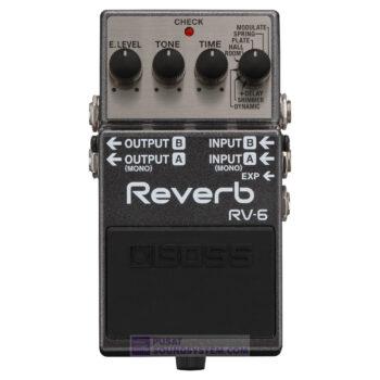 Boss RV-6 Reverd Modes Guitar Pedal Effect