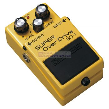 Boss SD-1 Super OverDrive Guitar Pedal Effect