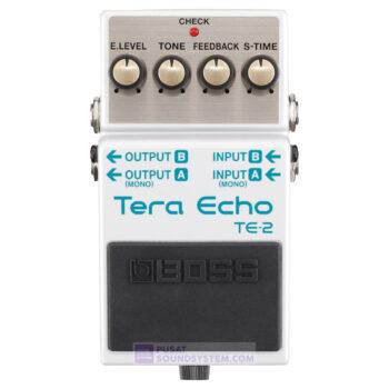 Boss TE-2 Tera Echo Guitar Pedal Effect