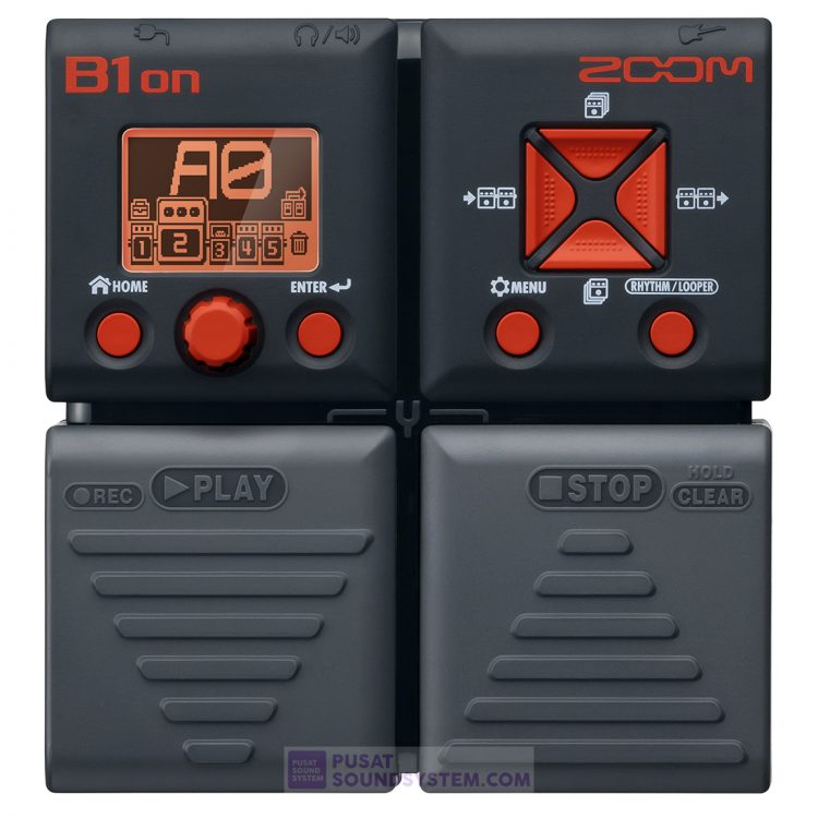 Zoom B1ON Bass Guitar Effects Pedal