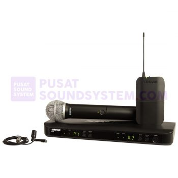 Shure BLX1288/W85 Wireless Combo System With Handheld And Lavalier