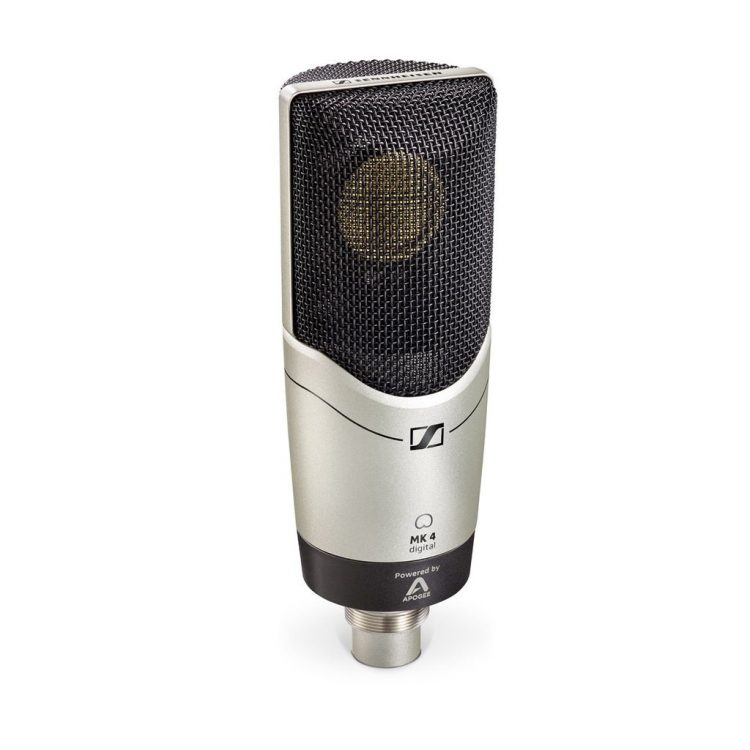 Sennheiser MK 4 Digital Microphone Studio condenser recording