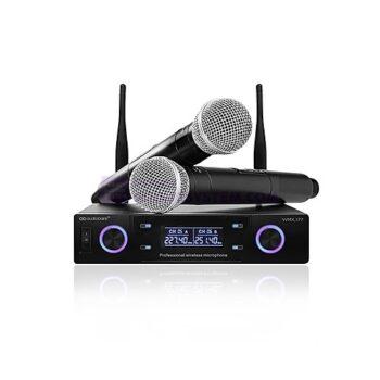 Audiobank WMX-177 Wireless Handheld Karaoke Microphone