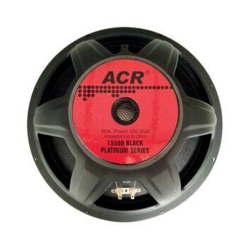 ACR 15500 BLACK PLATINUM Speaker Fullrange 15-Inch 500-Watt