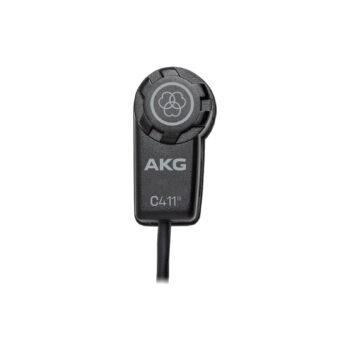 AKG C411 PP Mic Instrument Condenser Omnidirectional