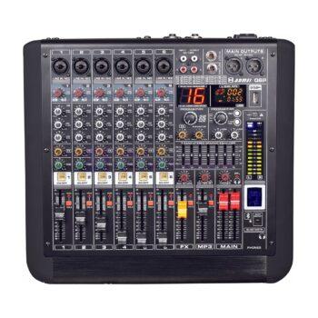 AXL Audion AM Q6P Power Mixer 6 Channel 650 Watt