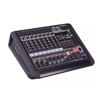 AXL AM Q8P Power Mixer Analog 8 Channel 650 Watt