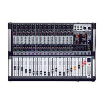 AXL Audion GL16P Power Mixer Analog 16 Channel 1500 Watt