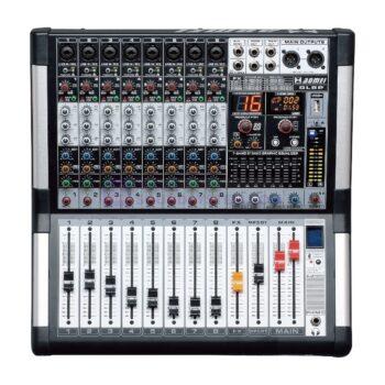 AXL Audion GL8P Power Mixer Analog 8 Channel 1500 Watt