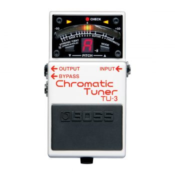 BOSS TU 3 Chromatic Tuner Pedal with Bypass