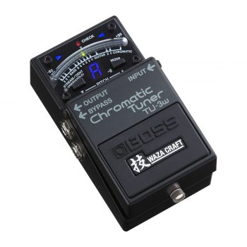 BOSS TU 3W Waza Craft Chromatic Tuner Pedal