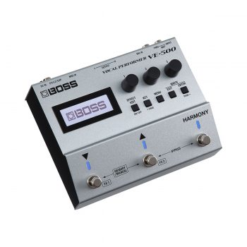 BOSS VE-500 Vocal Performer Effects Pedal