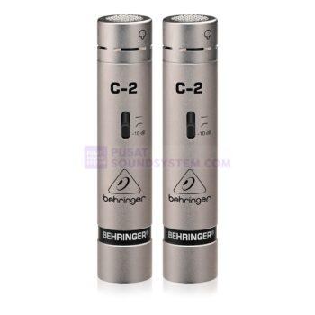 Behringer C-2 Studio Condenser Microphone (Pair)