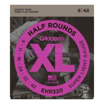 DAddario EHR320 Half Rounds Super Light