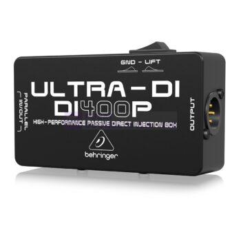 Behringer DI400P 1-channel Passive Instrument DI Box