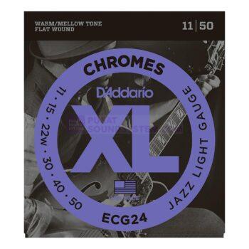 Daddario ECG24 Chromes Flatwound Electric Strings
