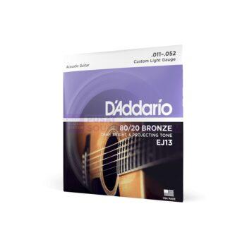 Daddario EJ13 Senar Gitar Bronze Acoustic Guitar Strings